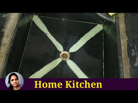 Sink cleaning | Kitchen sink cleaning tips | Sink cleaning in tamil | How to clean  kitchen sink