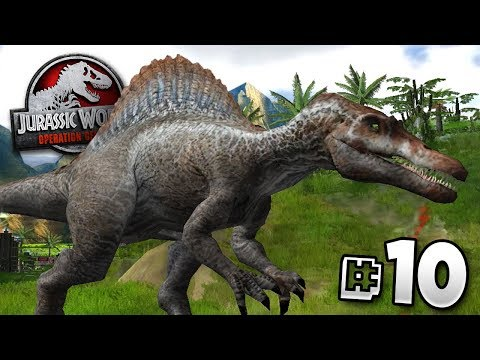 Hungry For Human! - Jurassic World Operation Genesis | Jurassic Month