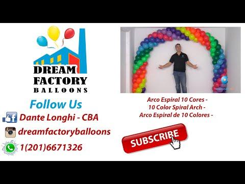 10 Color Spiral Arch l Dante Longhi