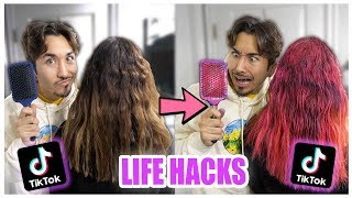 We TESTED Viral TikTok Life Hacks.... (UNBELIEVABLE) *PART 3*