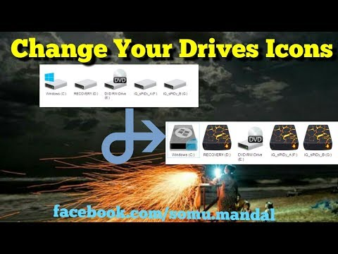 How to Change Hard Disk Drive Icon on Windows 7,8,10..??