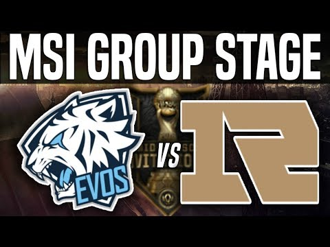EVS vs RNG - MSI 2018 Group Stage Day 5 - EVOS Esports vs Royal Never Give Up | LoL MSI 2018