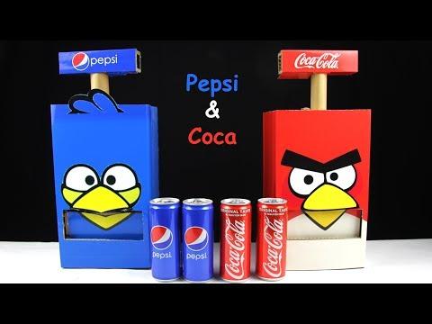 How to make Pepsi and Coca Vending Machine at home