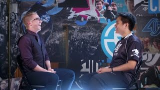 Download NA LCS Spring Finals: Dash Interview with CLG Xmithie Video