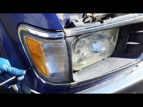 How to replace sealed-beam headlights