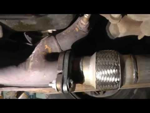 2000-2007 Ford Taurus flex pipe catalytic converter replacement