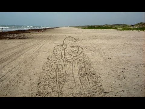 Tutorial Photoshop CS5 - Portrait in the sand