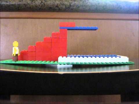 Lego diving