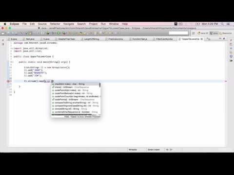 Java 8 Features Part 25 - Convert String to lower case using streams