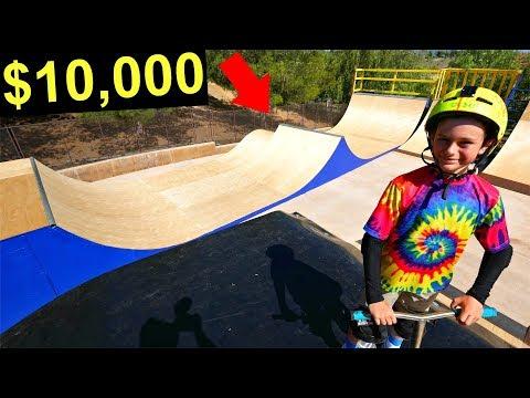 NEW $10,000 BACKYARD SKATEPARK UPGRADE!
