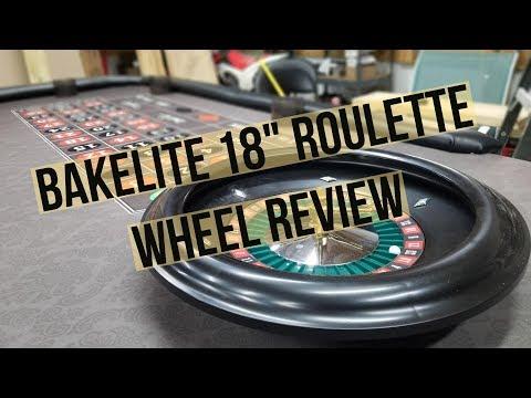 Bakelite 18 Inch Roulette Wheel Review