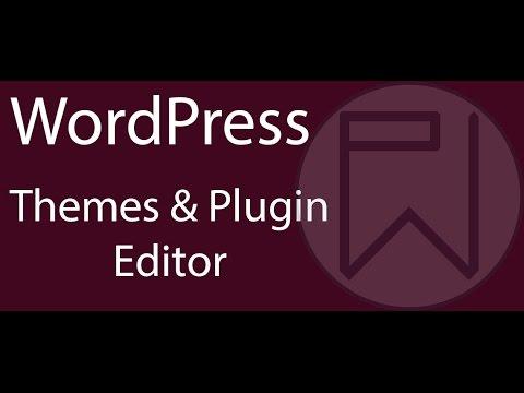 WordPress Themes & Plugins Code Editor