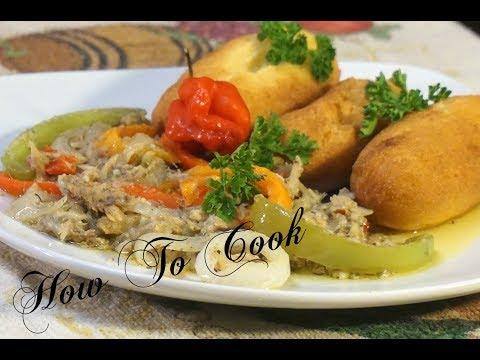 How To Make Jamaican Salt Fish Rundown Recipe | How To Cook