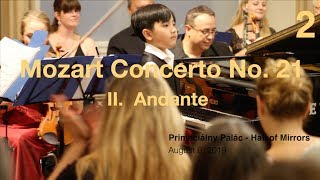 Mozart Concerto No.  21, II.  Adante (Evan is 8 years and 2 months old)