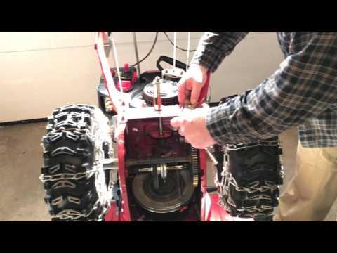 Troy Bilt 2620 Snowblower Drive Cable Replacement