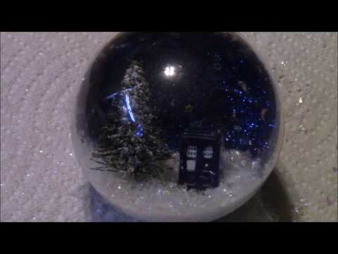 DIY Waterless Snow Globe Ornament