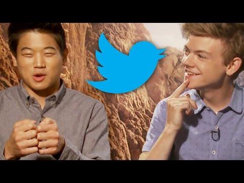 Maze Runner: The Scorch Trials Cast Live Tweets Inside Movie