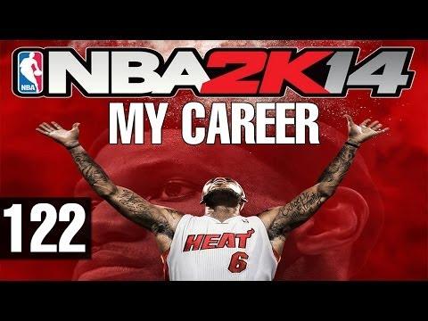 NBA 2K14 - Walkthrough - MyPlayer Career - Part 122 - Stuck Arm Band