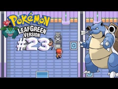 Pokemon Leaf Green - Episode 23: Saffron City Gym