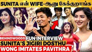 Sunita, தமிழ் தெரியாம கெட்ட வார்த்தை சொல்லி Shoot-ல கத்திடுவா-