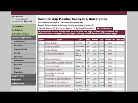 A How-To Guide to the Common Application