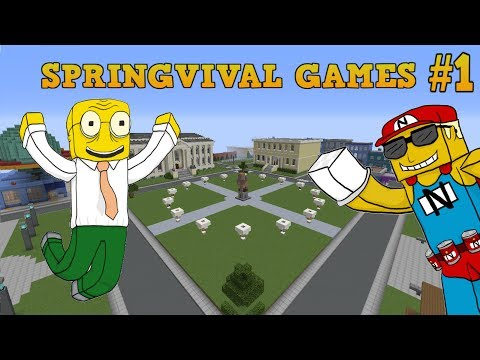 Minecraft Springfield Survival Games: S05: New Map!