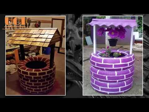 NEW DIY CREATIVE IDEAS to REUSE and RECYCLE TIRE – AWESOME DIY CRAFTS WITH TIRE