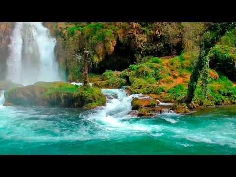 Relaxing Music with Nature Sounds - Waterfall HD