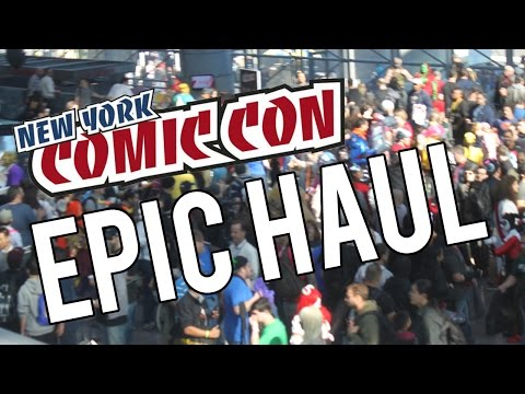 New York Comic Con 2014 - Epic Haul - Exclusives and More!