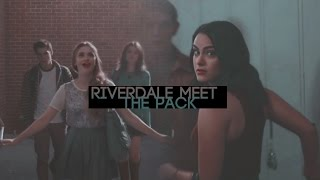 ►crossover — riverdale meet the pack (+teenwolf)