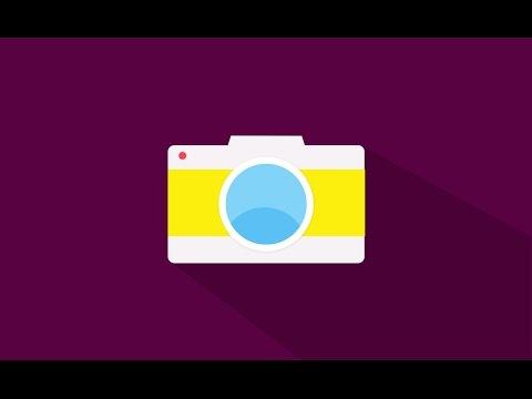 Photoshop Tutorial Camera flat icon