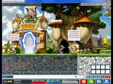 New Maple Story Private server v62!!   CreateMS :D