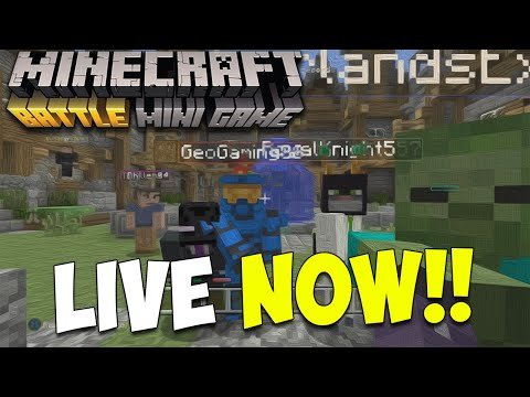 Minecraft Xbox One: BATTLE MODE LIVESTREAM! | Come PLAY! :D