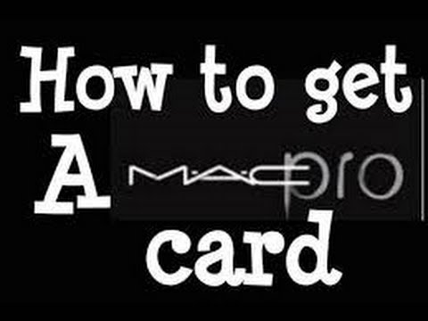 MAC PRO DISCOUNT CARD **Non Professionals**