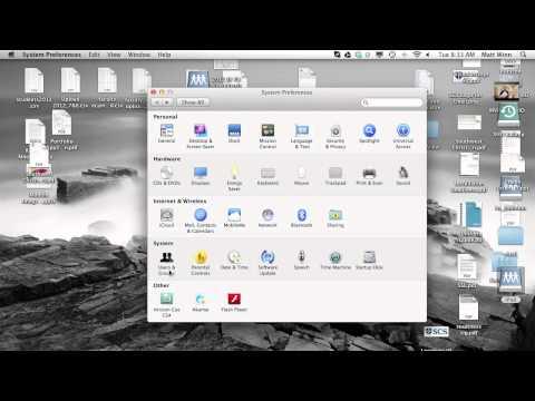 Change your Username and Computer name on a Mac