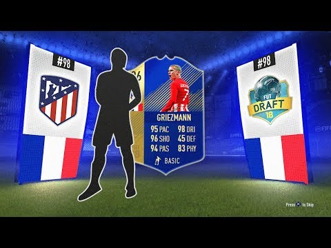 THE BEST TOTS CARD EVER?! - #FIFA18 DRAFT TO GLORY #98