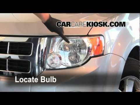 2008 Ford Escape Headlight Turn Signal Brights Bulb Replacement Preview