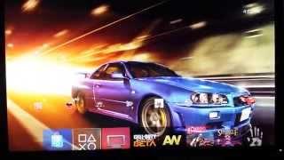 [PS4 Themes] 2002 Nissan GT-R Skyline V·spec II Nür Dynamic Theme