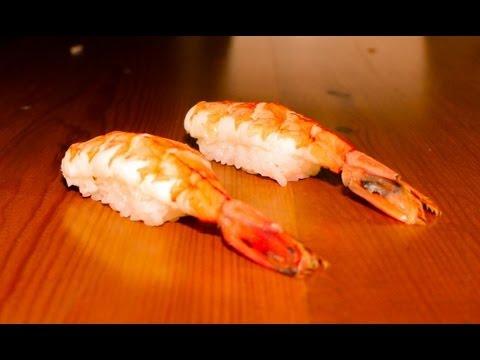 Shrimp Nigiri Sushi - How to Make Shrimp Nigiri Sushi