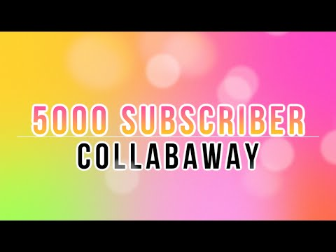 5000 SUBCRIBER CELEBRATION - COLLAB WITH ME! {CLOSED}