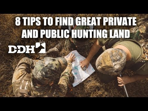 8 Tips to Find Great Private and Public Hunting Land | John Eberhart @deerhuntingmag