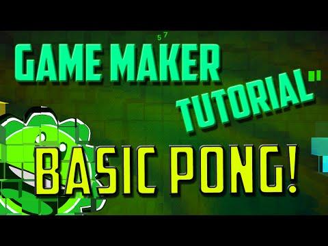 Game Maker Studio: Basic Pong Tutorial