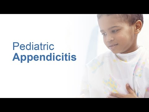 Pediatric Appendicitis