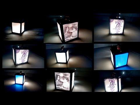 DIY Diwali kandil/ lamp/ photo frame: three in one DIY 2016