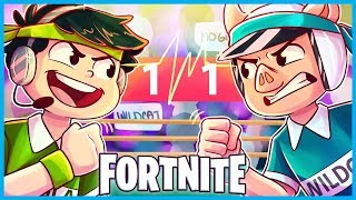 MOST INTENSE ROCK PAPER SCISSORS Match EVER in Fortnite: Battle Royale! (Fortnite Funny Moments)