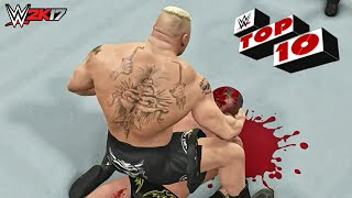 WWE 2K17 - Top 10 PPV Moments | Best Of #2