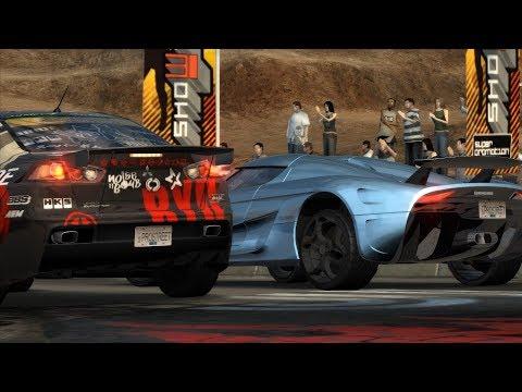 Need For Speed ProStreet: 2354HP Koenigsegg Regera vs Ryo Watanabe's Evo X (Showdown King)