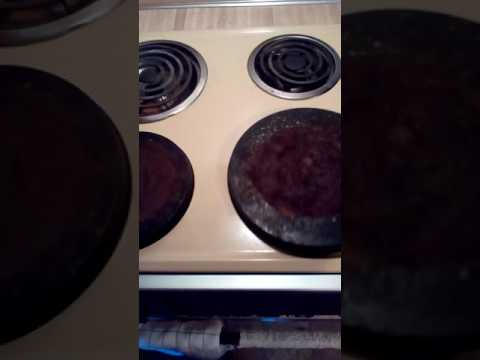 Culinary Thing:  Stove Burner Cover and Reflector Pan Cleaning