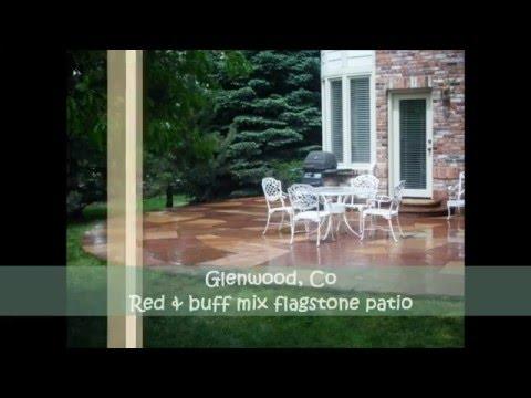 Villa Masonry - Denver flagstone & paver Patio's