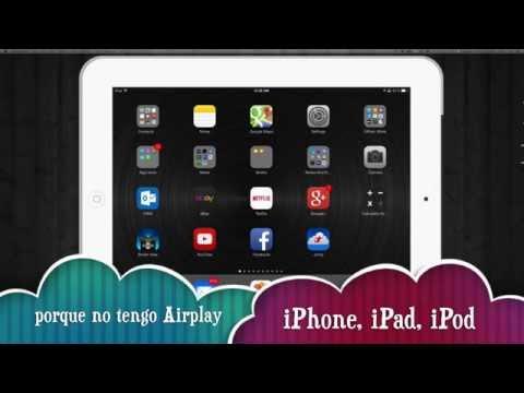 Airplay donde esta? Porque no tengo airplay, icono de airplay iphone ipad iPod